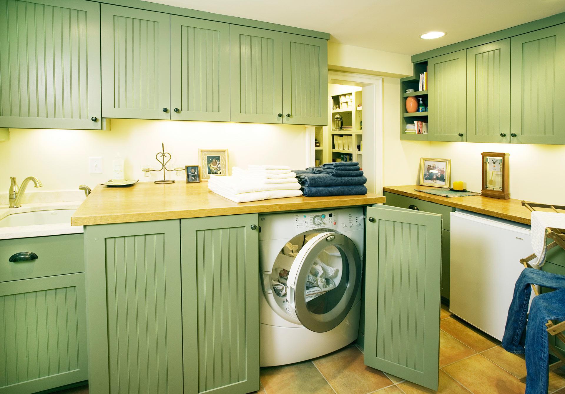 Laundry Room Sicora Design Build